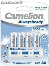 Recargable Always Ready AA 2300mAh (4 pcs) Camelion PEC03-6379