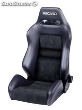 Recaro cross speed piel artificial negro/artista negro piloto&copiloto