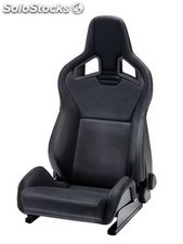 Recaro cross sportster cs airbag calefaccion piel artificial negro copiloto