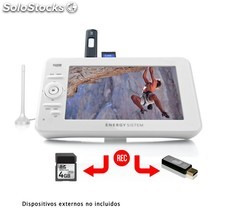 Receptor TV portátil Energy Sistem TV2070 Blanco