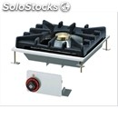 Recessed gas cooktop-mod. pcd-44 g-# 1 fire-power 10 kw/8600 kcal/h-size: cm. l