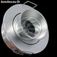 Recessed LED Downlight 1W white 40mm cold day (NG81-0002)