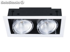 Recesso led Downlight 2x10W cob