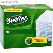 Recharge 20 lingettes swiffer