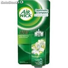 Recharge desodorisante mnifresh matic fleur blanche air wick