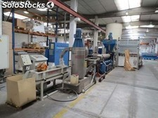 Recovery equipment for manufacture of pellets