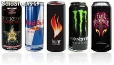 Red bull, monster, power horse - Bebidas Energéticas..