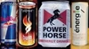 Red bull,power horse,matrix energy drink,esthate,pepsi