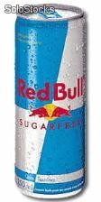 Red Bull Sugar Free - caixa com 24 latas de 250ml cada