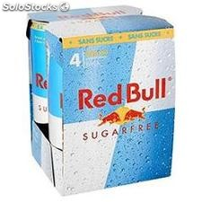 Red bull sugarfree 4PK 4X250ML