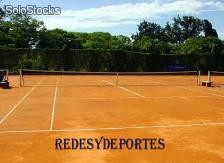 Red De Tenis Parte Doble Nylon 2,5mm