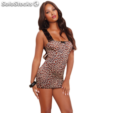 Red diamond exclusivo babydoll leopardo style 10148 talla unica