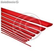 Red heat shrink tubing of 9.5 mm roll of 3m (FN66)
