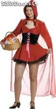 Red riding hood sexy adult costume