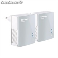 Red tp-link tl-PA4010KIT Powerline 500Mbps Homeplug av