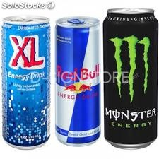 Redbull, XL & Monster Energy Drinks