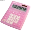 Ref. 29202 | Calculadora Casio Ms-8V-Pk Solar-Pilas Big Display 8 Dig.