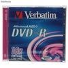 Ref. 31804 Verbatim Dvd-r 16x Caja Ancha Mod. 43519
