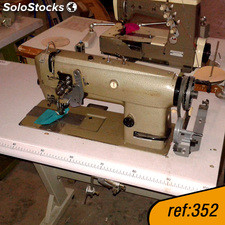 REF. 352 Se vende máquina repunte doble arrastre 2 agujas Brother