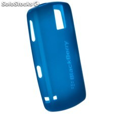 Ref. 36908 Carcasa de Silicona Original para BlackBerry 8100 Color Azul Mar