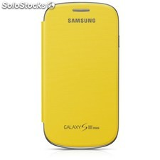 Ref. 36914 Funda Samsung Galaxy s iii mini Color Amarillo Mod.efc-IM7FUEGST