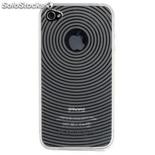 Ref. 36916 Kensington K39510EU - Carcasa para iPhone 4, color transparente