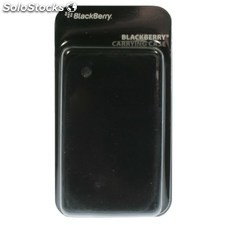Ref. 36924 Carcasa de Silicona Original BlackBerry 8520/9300 Color Negro