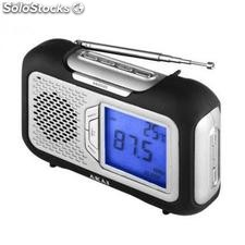 Ref. 41429 Radio Digital Am/Fm Akai a61003 Portatil Lcd