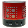 Ref. 44325 | Mini Altavoz Bluetooth L-04 Negro y Rojo Mp3, USB y Micro SD