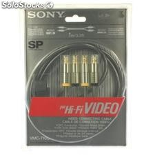 Ref. 60122 Cable Rca Sony Wmc-710sp Cable Rca Mono-Mono 1 Mt.