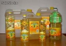 refined sunflower oil, palm oil and soya bean oil.