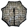 Reflective hood 80cm octagonal softbox for speedlite flash focus with honeycomb