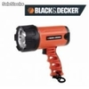 Reflector led recargable black and decker