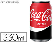 Refresco coca-cola zero lata 330ML