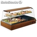 Refrigerated and ambient countertop display and storage case - mod. card sb -