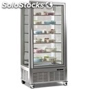 Refrigerated bakery island display - mod. dv_650_1 - stainless steel interior -