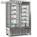 Refrigerated bakery island display - mod. dv_900_1 - stainless steel interior -