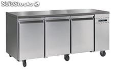 Refrigerated counter remote unit 3 door NO backslash