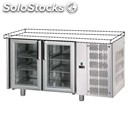 Refrigerated counter - stainless steel aisi 304 - mod. ug02mpvsp - worktop not