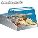 Refrigerated countertop display - series: super/c - stainless steel frame -
