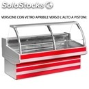 Refrigerated display counter - ideal for the display of meat - mod. crosby_vt -