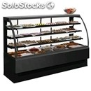Refrigerated display counter - suitable for bakery products - mod. ev_vt -