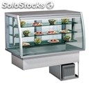 Refrigerated drop-in display case - mod. cubana cervino di/rfvt - insulated base