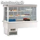 Refrigerated drop-in display case - mod. style vasca vfs - gastronomy-specific -