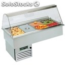 Refrigerated drop-in food well display - mod. opera gn - gastronomy-specific -