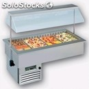 Refrigerated drop-in food well display - mod. sinfonia vt (gn) -