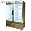 Refrigerated patisserie display - mod. tek/33 - anodized alumiium exterior -