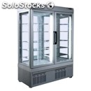 Refrigerated patisserie display - mod. tek/41 - anodized alumiium exterior -