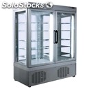 Refrigerated patisserie display - mod. tek/51 - anodized alumiium exterior -