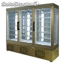 Refrigerated patisserie display - mod. tek/60 - anodized alumiium exterior -